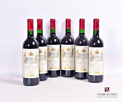6 bouteillesChâteau LA PIGOTTE TERRE FEUMédoc...