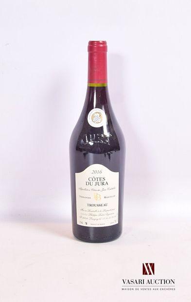 1 bouteilleCÔTES DU JURA Vendanges Manuelles...