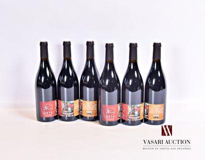 6 bouteillesFAUGÈRES