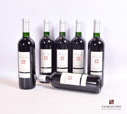 6 bouteillesCÔTEAUX DU LANGUEDOC