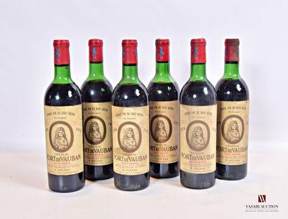 6 bouteillesChâteau FORT DE VAUBANHaut...