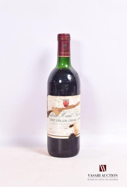 1 bouteilleChâteau HAUT POURRETSt Emilion...