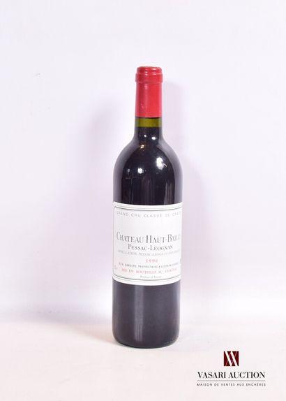 1 bouteilleChâteau HAUT BAILLYGraves GCC1996...