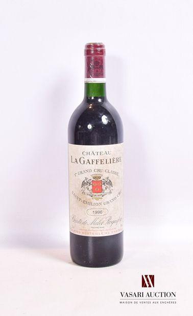 1 bouteilleChâteau LA GAFFELIÈRESt Emilion...