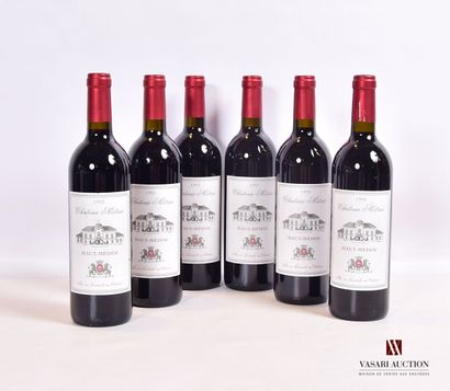 6 bouteillesChâteau MÉTRIAHaut Médoc1993...