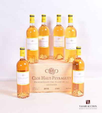 6 bouteillesCLOS HAUT PEYRAGUEYSauternes...