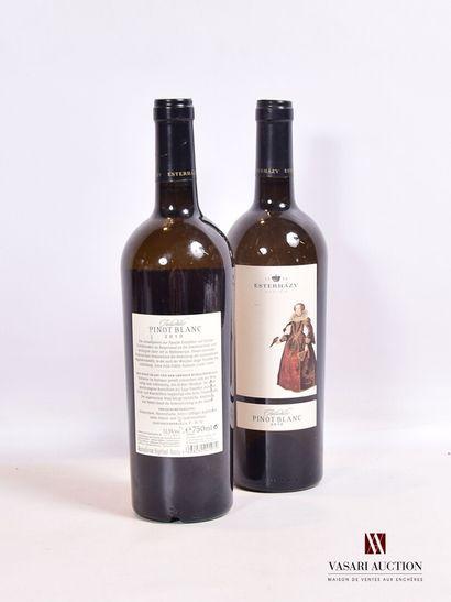 2 bouteillesPINOT BLANC Tatschler mise Esterhazy...