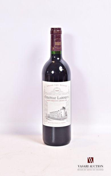 1 bouteilleChâteau LAROQUESt Emilion GCC1999...