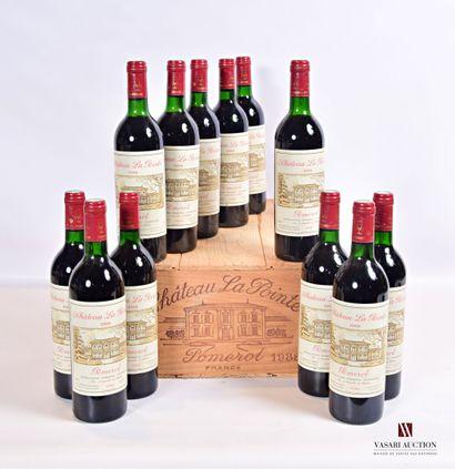 12 bouteillesChâteau LA POINTEPomerol1988...