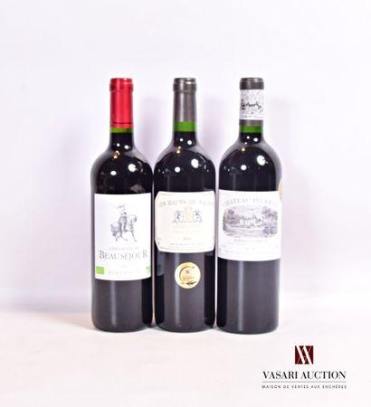 Lot de 3 bouteilles comprenant :  1 bouteilleCHEVALIER...