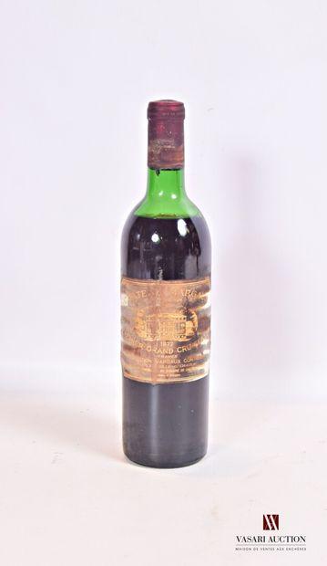 1 bouteilleChâteau MARGAUXMargaux 1er GCC1972...
