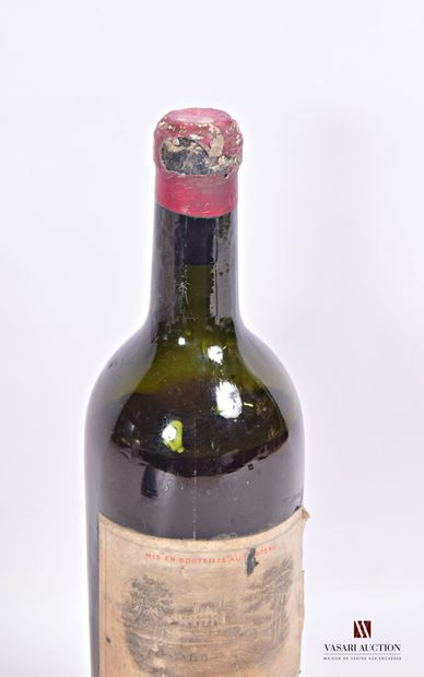 1 bouteilleChâteau LAFITE ROTHSCHILDPauillac 1er GCC1928  Supposée 1928. Et....