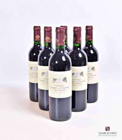 6 bouteillesChâteau CAMBON LA PELOUSEHaut...
