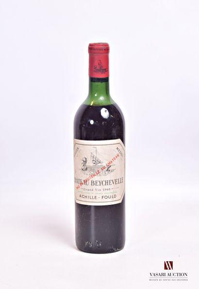 1 bouteilleChâteau BEYCHEVELLESt Julien...