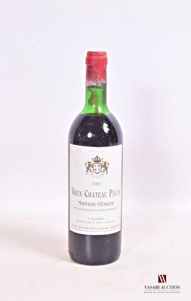 1 bouteilleVIEUX CHÂTEAU PALONMontagne...