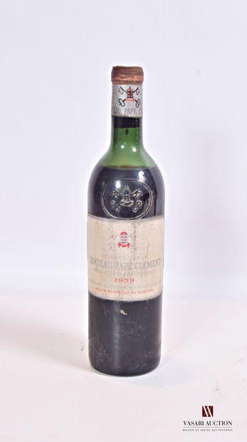 1 bouteilleChâteau PAPE CLÉMENTGraves GCC1959...
