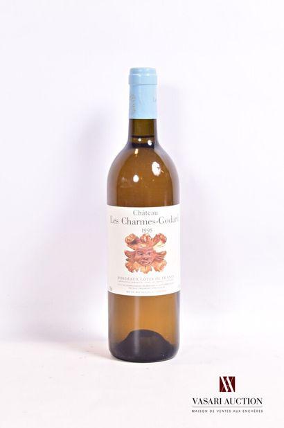1 bouteilleChâteau LES CHARMES GODARTBordeaux...