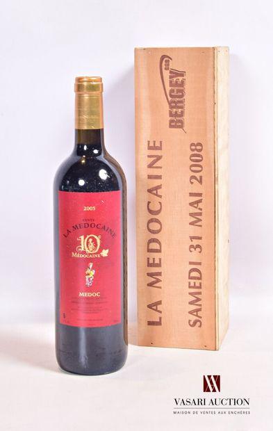1 bouteilleCuvée LA MÉDOCAINE Médoc2005...