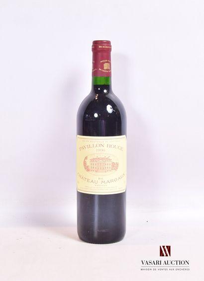 1 bouteillePAVILLON ROUGE du CH. MARGAUXMargaux1996...