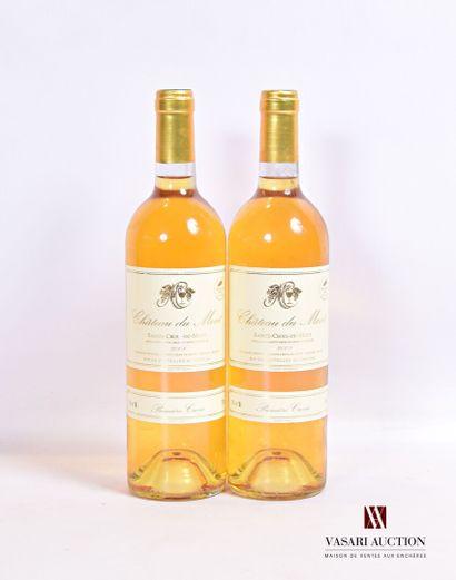 2 bouteillesChâteau DU MONT