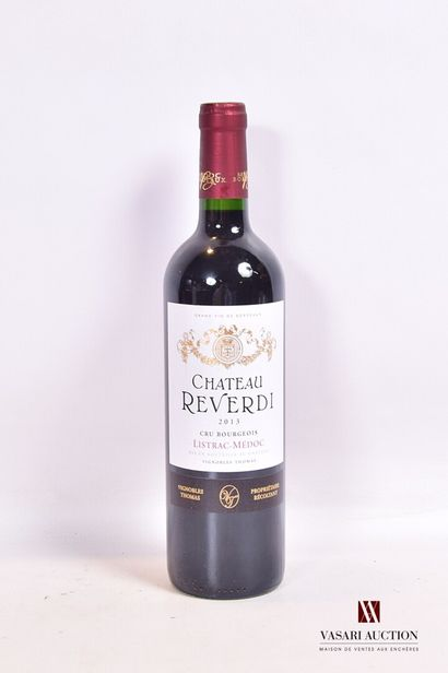 1 bouteilleChâteau REVERDIListrac Médoc...