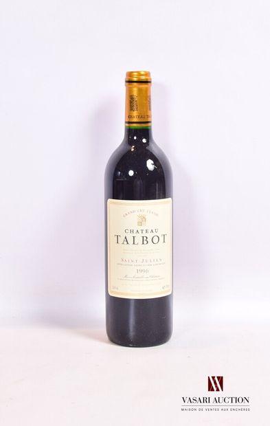 1 bouteilleChâteau TALBOTSt Julien GCC1996...