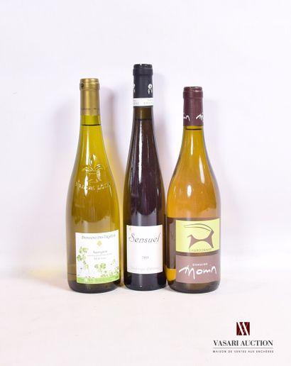 Lot de 3 bouteilles comprenant :  1 bouteilleCHARDONNAY...