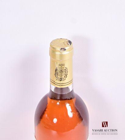 1 bouteilleChâteau LATREZOTTEGraves Supérieures1997  Et. tachée (2 acrocs)....