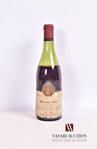 1 bouteilleBEAUNE - Confrérie des Chevaliers...