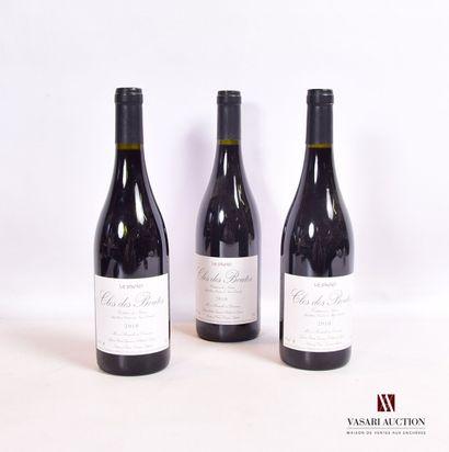 3 bouteillesCOSTIÈRES DE NIMES