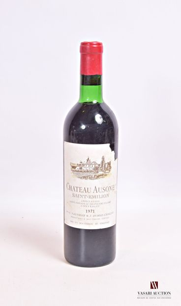 1 bouteilleChâteau AUSONESt Emilion 1er...