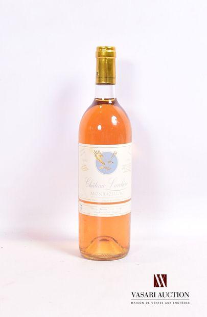 1 bouteilleMONBAZILLAC mise Château Larchère1993...