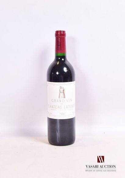 1 bouteilleChâteau LATOURPauillac 1er GCC1996...