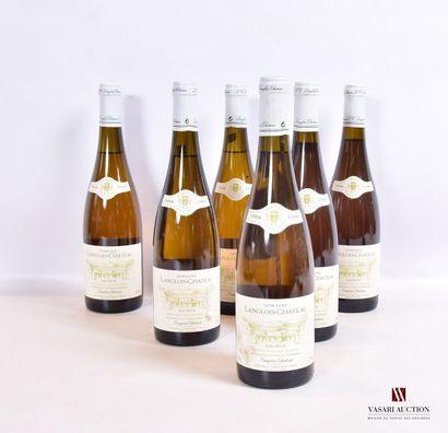 6 bouteillesSAUMUR