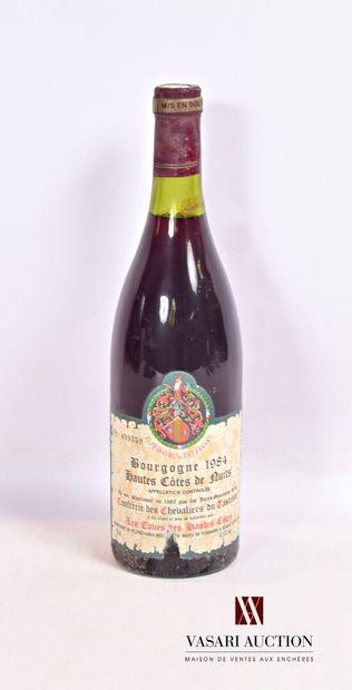 1 bouteilleBOURGOGNE Hautes Côtes de Nuits...