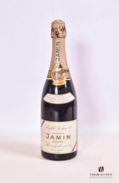 1 bouteilleChampagne JAMIN (Théophile Roederer...