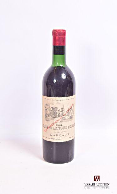 1 bouteilleChâteau LA TOUR DE MONSMargaux1962...
