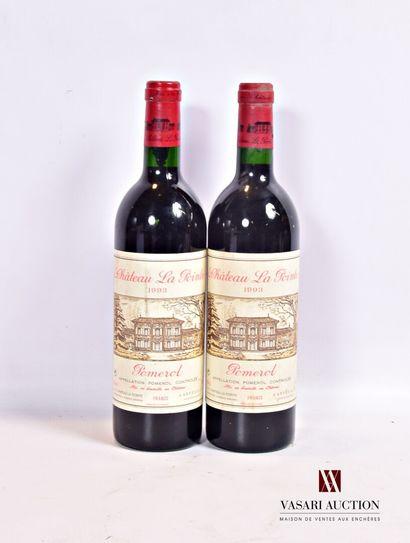 2 bouteillesChâteau LA POINTEPomerol1993...
