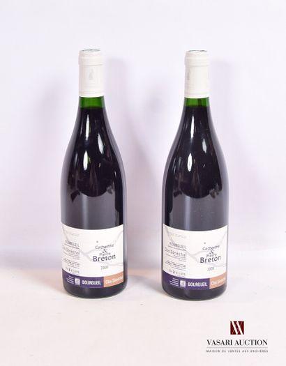 2 bouteillesBOURGUEIL