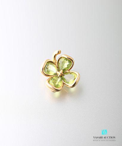 Chanel, pendentif « Trèfle à quatre feuilles...