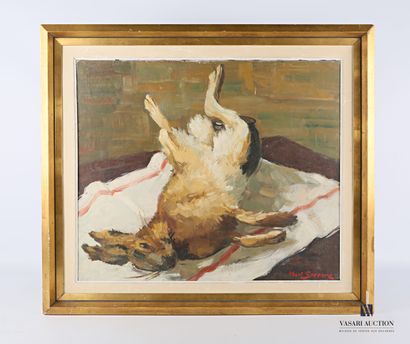 SERRURE Albert (XXème siècle)  Nature morte...