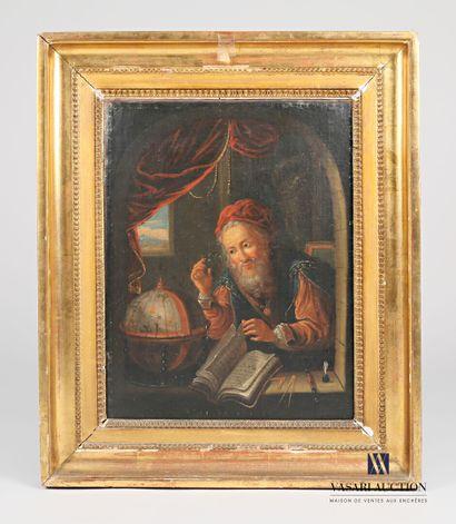 Ecole HOLLANDAISE du XVIIIème siècle, suiveur...