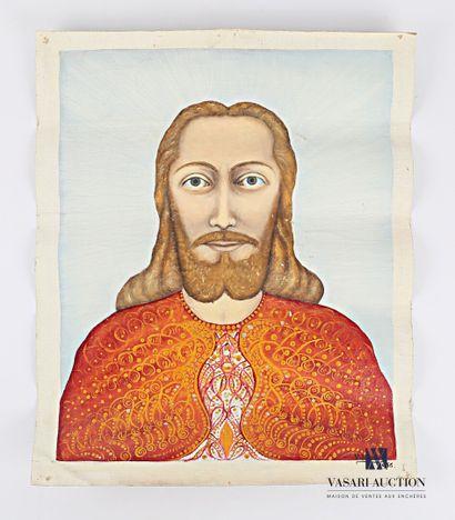 SIMON Victor (1903-1976)  Visage du Christ...
