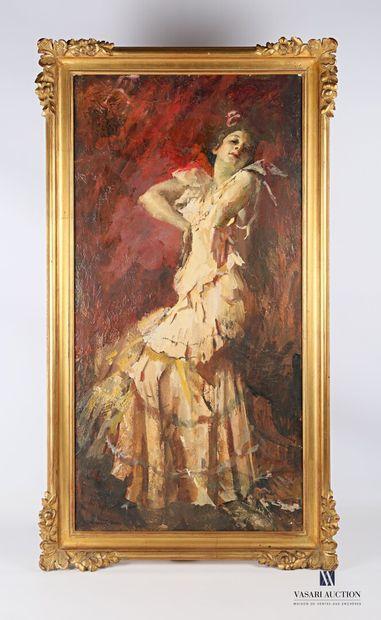 AMISANI Giuseppe (1881-1941)  Danseuse de...