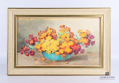 SEITTE Charles (XXème siècle)  Bouquet de...
