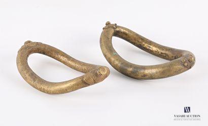SENOUFO - CÔTE D'IVOIRE ?  Deux bracelets...