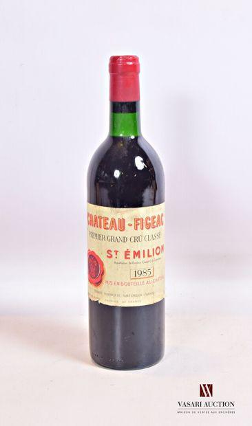 1 bouteilleChâteau FIGEACSt Emilion 1er...