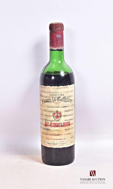 1 bouteilleChâteau CANON LA GAFFELIÈRESt...