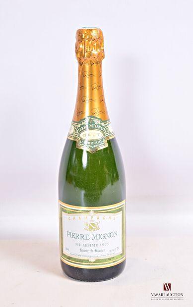 1 bouteilleChampagne PIERRE MIGNON Blanc...