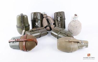 RDA, RFA et divers, équipements militaires:...